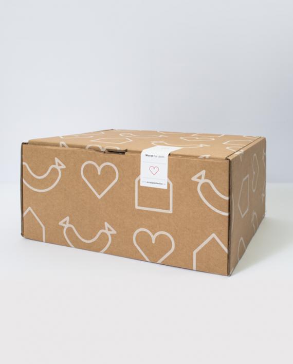 Geschenkbox mit Siegel