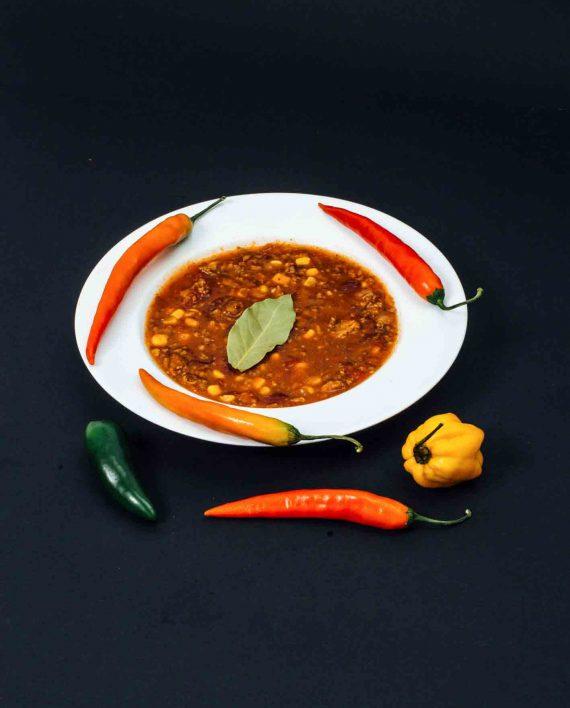 Chili con carne im Weckglas