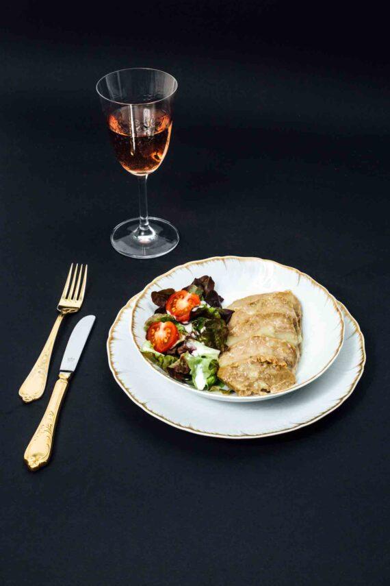 Rindfleisch in Zwiebelsauce im Weckglas
