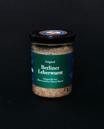 Berliner Leberwurst im Glas