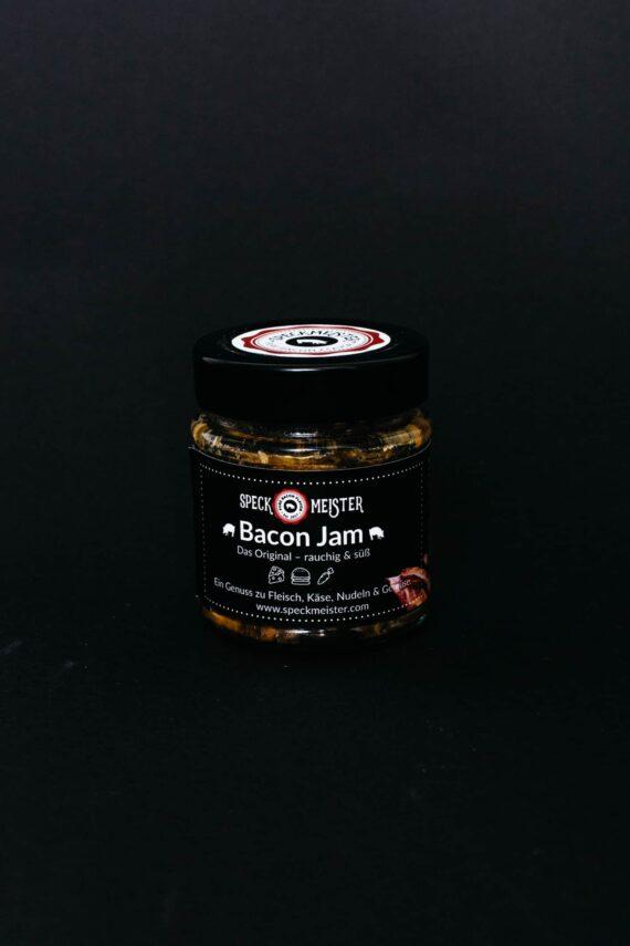 Speckmarmelade/Bacon Jam im Glas
