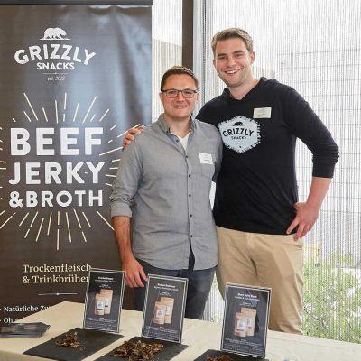 Das Team von Grizzly Snacks