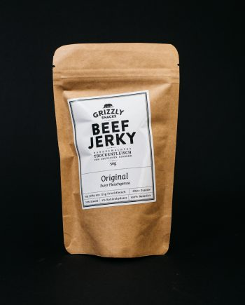 Beef Jerky Original von Grizzly Snacks