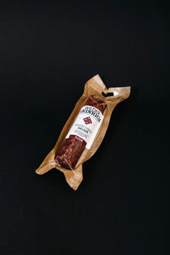 Wildschwein-Salami natur von Wilder Heinrich