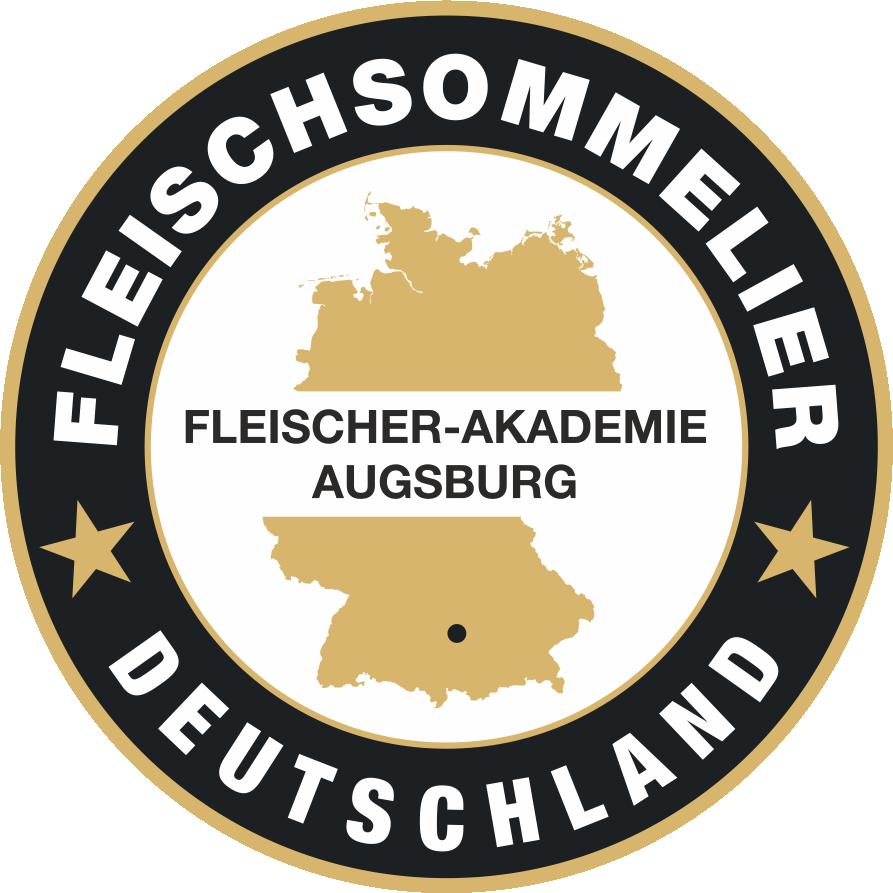 Badge und Auszeichnung des Fleisch-Sommeliers