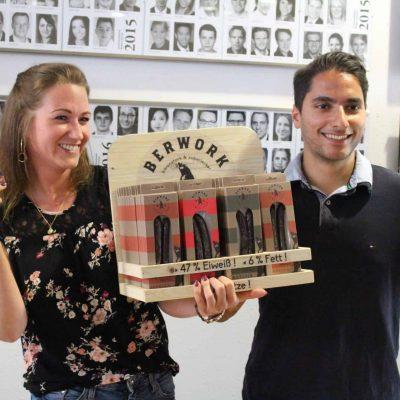 Die Gründer des Start-ups Berwork