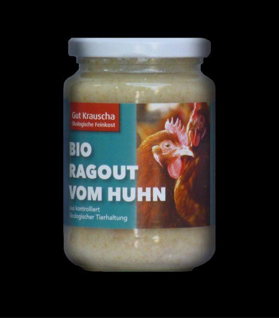 Ragout vom Bio-Huhn im Glas